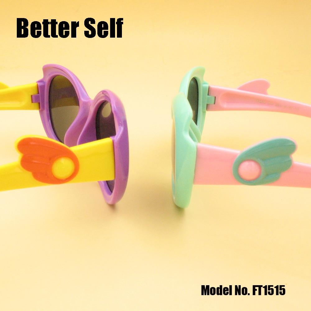 Solbriller til børn Wing Temple Kid Polariserede vintage briller - Beklædningstilbehør - Foto 2