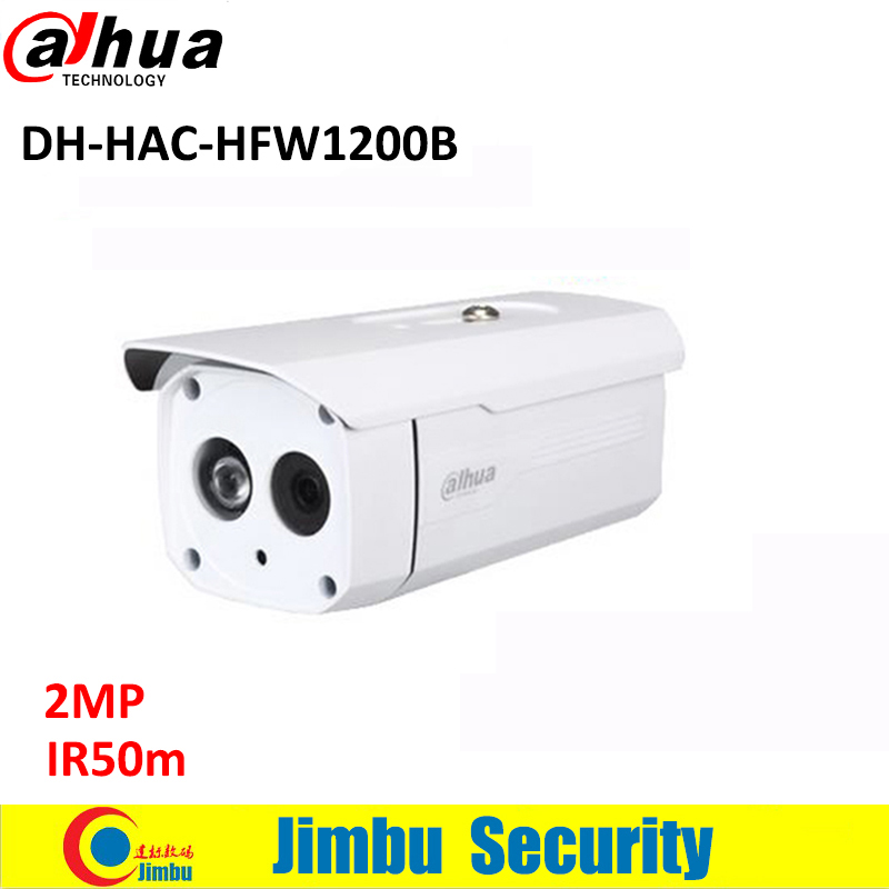 DAHUA HDCVI 2MP Bullet Camera HFW1200B CMOS 1080P IR 50M IP66 HAC-HFW1200B security CCTV camera dahua hdcvi 1080p bullet camera 1 2 72megapixel cmos 1080p ir 80m ip67 hac hfw1200d security camera dh hac hfw1200d camera