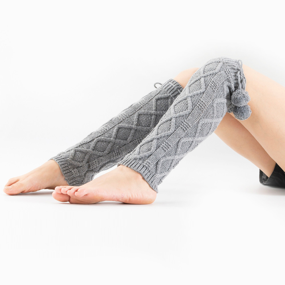 Underwear & Sleepwears Leg Warmers Winter Warm Sock Knit Leg Warmers Long Socks For Women Hot Sale Comfortable Crochet Twist Slouch Boot Socks Breathable