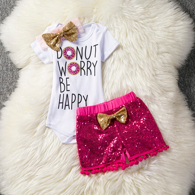 Fashion Baby Clothes Newborn Baby Rompers Clothes Baby Girl Clothing Set For 1-2 Birthday Toddler Suit Summer Bebes Outfits Sets 2017 new fashion cute rompers toddlers unisex baby clothes newborn baby overalls ropa bebes pajamas kids toddler clothes sr133