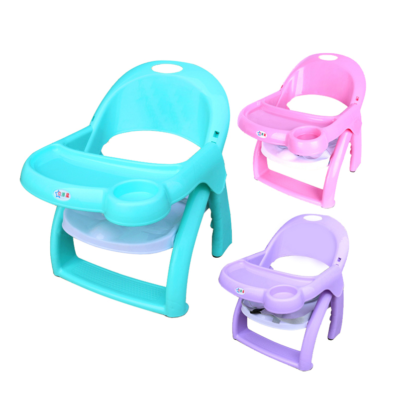 2018 Changbvss 0-3 Year Old Baby Adjustable Foldable Portable Kids Booster Seats Highchairs Chairs Dinner Plate Feeding Chair
