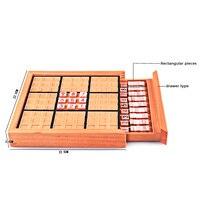나무 스도쿠 번호 게임 퍼즐 장난감 성인 수학 아기 장난감 직소 테이블 게임 학습 교육 장난