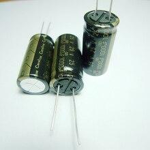 10pcs ELNA Cerafine 25v1000uf 16*32.5 copper audio capacitor audio super capacitor electrolytic capacitors free shipping