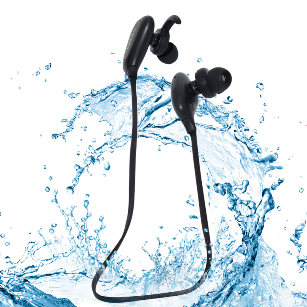 Bluetooth In-Ear Earphone V4.0 Wireless Sports Stereo Running Workout Earphone with Mic Noise Cancelling цена 2016