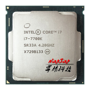 Image 1 - Intel Core i7 7700K i7 7700 K 4.2 GHz Quad Core שמונה חוט מעבד מעבד 8 M 91 W LGA 1151