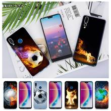 Transparent Soft Silicone Phone Cases Fire Football for Huawei Honor 7A Pro P Smart P20 P9 P8 9 Lite 2017