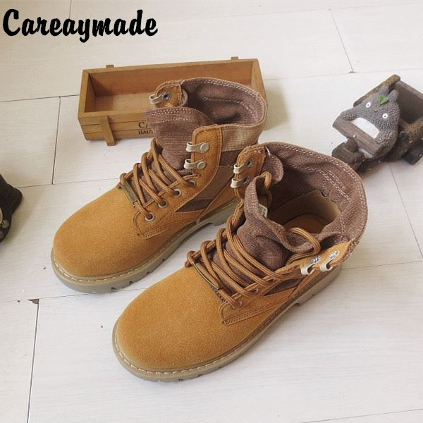 Careaymade-2018 New spring and autumn British style retro PU Martin boots,fashion Sweetheart shoes ankle boots,3 colors fall trendboots in europe and america heavy bottomed martin boots british style high top shoes shoes boots sneakers