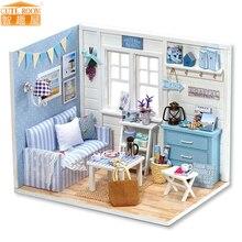H016 DIY Furniture Dollhouse