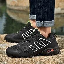 Новые водонепроницаемые походные ботинки для мужчин, замшевые альпинистские ботинки, качественные уличные дышащие ботинки для треккинга, походные охотничьи ботинки
