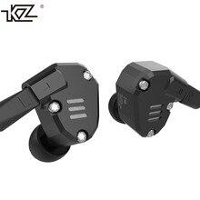 Оригинальный KZ ZS6 2DD + 2BA Гибридный в ухо наушники HiFi DJ monito Бег спортивные наушники наушник Earbud KZ ZS5 pro
