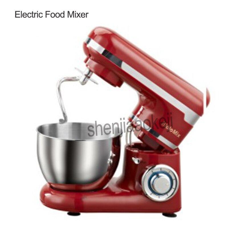 Stand alimentaire mélangeur machine électrique en acier inoxydable cuisine appareil chef oeuf fouet crème mélangeur pâte mélangeur machine 4L 220 V