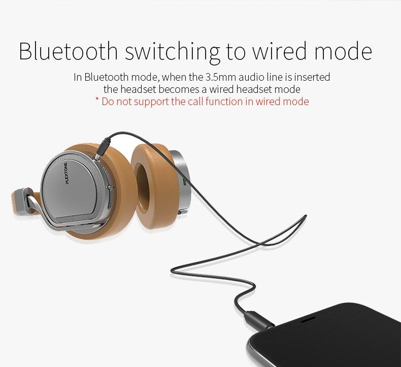 Plextone BT270 Wireless bluetooth Headphone 10