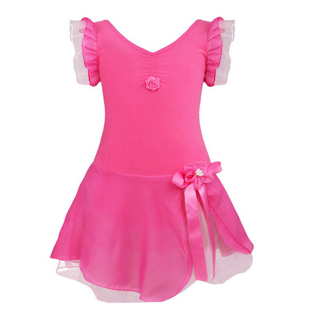 Kids Girls Ballet Dress Swimsuit for Dancing Tutu Ballet Leotard Fancy Costume Girl Gymnastics Leotard Ballerina Ballet Clothing