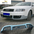 A4 B6 car-styling FRP auto front lip spoiler apron for Audi A4 B6 standard bumper 2003-2005