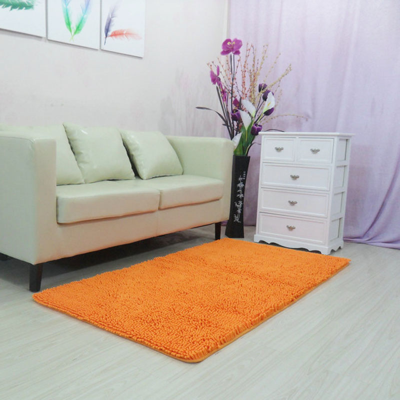 60x150cm 23quotx59quot Chenille Large Carpets For Living Room Comfortable And Absorbent
