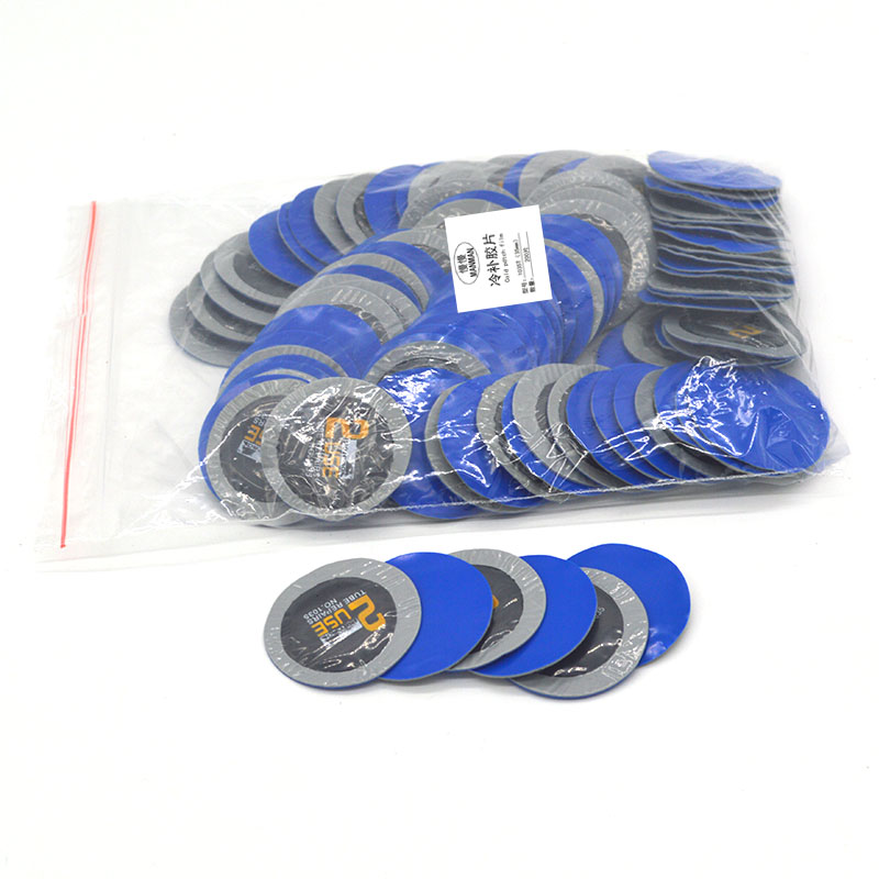35mm200pcs Rubber Flat Tire Repair Car Wheel Tire Inner Tube Cold Patch Film