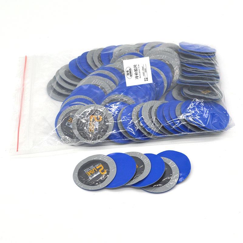 35mm200pcs Rubber Flat Tire Repair Car Wheel Tire Inner Tube Cold Patch Film