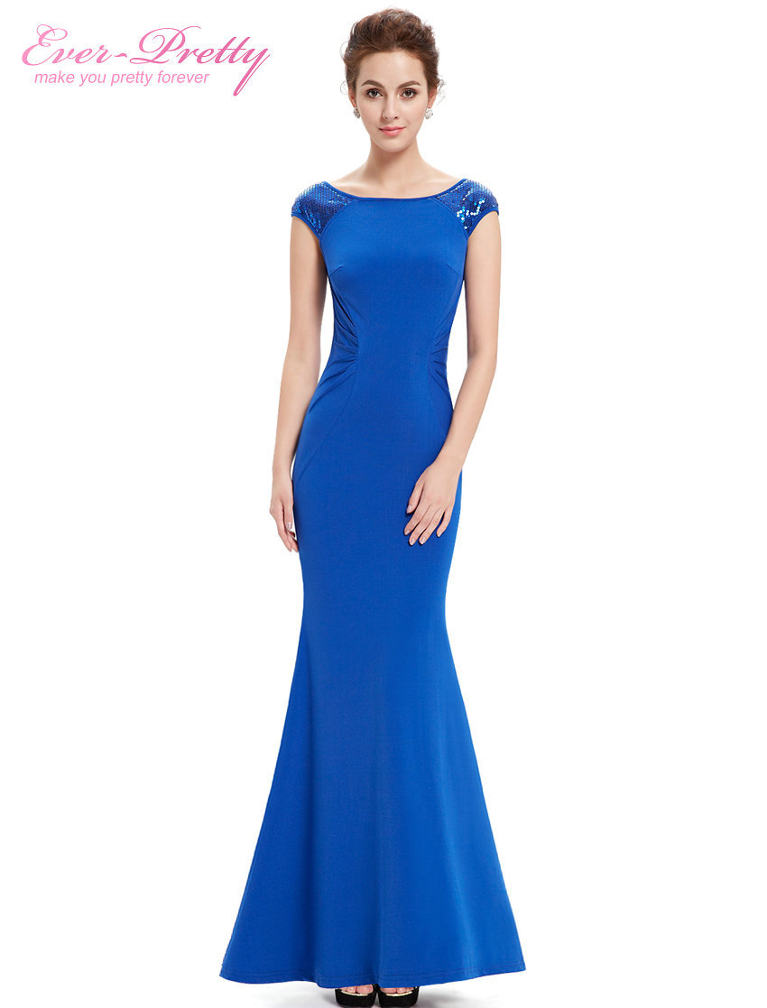 Popular Women Blue Evening Dresses-Buy Cheap Women Blue Evening ...