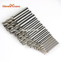 New 15pcs Carbide End Mill CNC Tools HSS Diameter 2 5 16 5mm 4 Blades Flute