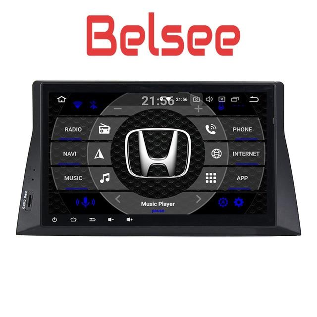 Belsee для Honda Accord 8 2008 8,0 2011 2010 низкий уровень Android 2009 головное устройство 8 Core автомобиля радио gps навигации стерео видео wi fi