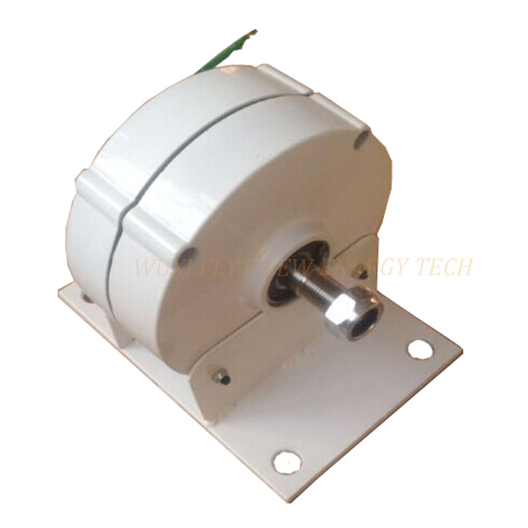 New Arrival 100w 24v WITH BASE low rated rotate speed permanent magnet generator new arrival 100
