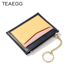 TEAEGG 2019 Women Wallet Hasp Lady Moneybags Zipper Coin Purse Woman Envelope Wallet Money Cards ID Holder Bags Purses Pocket цены онлайн