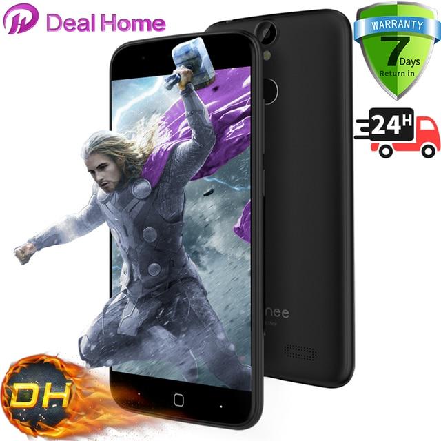 "Original Vernee Thor Mobile phone 4G LTE Android 6.0 MTK6753 Octa Core 5.0"" Fingerprint ID 3G RAM+16G ROM 7.9mm Smartphone"