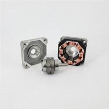 39BYG101-1 ультра-тонкий гибридный шаговый двигатель 22 мм постоянный магнит реактивный микро шаговый двигатель 2 фазы 6 линии крутящий момент: 0,13 Н. М