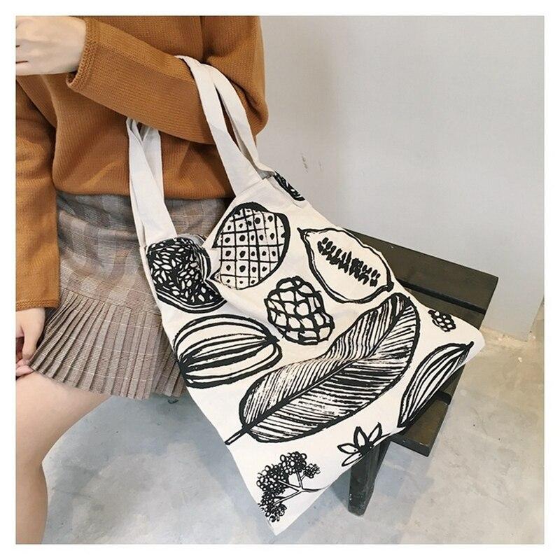 Raged Sheep Women Men Shopping Bag Canvas Tote Bags Reusable Cotton Grocery Handbags Webshop Eco Foldable Shopping Cart Trolley