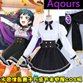 [Stock]Anime Lovelive Sunshine!! Aqours Tsushima Yoshiko Halloween Unawaken cosplay costume lolita dress school uniform NEW 2017