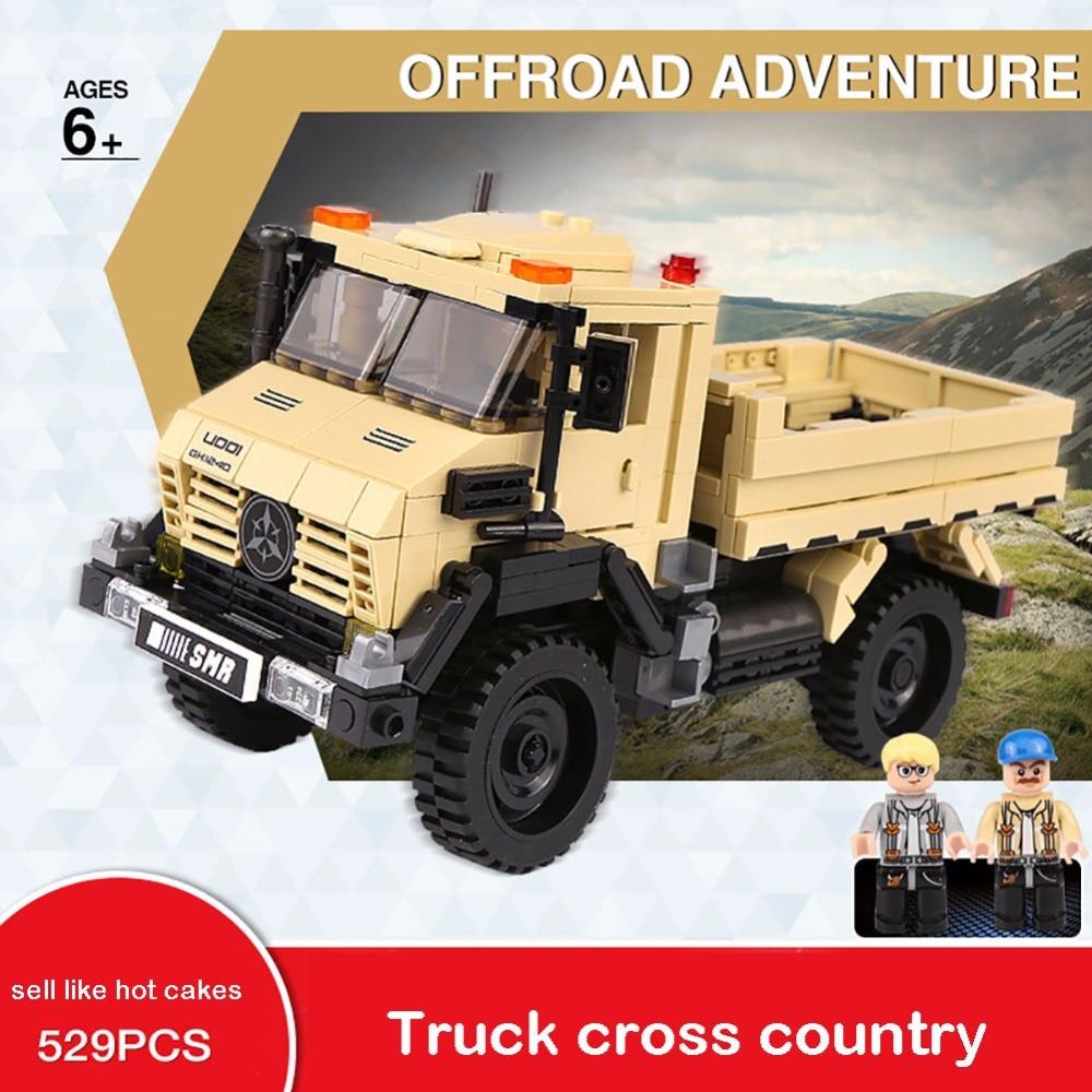 XINGBAO 03026 Technic Car Series The Super Truck Model Set Building Blocks Bricks playmobil Toy for children education gift GT45