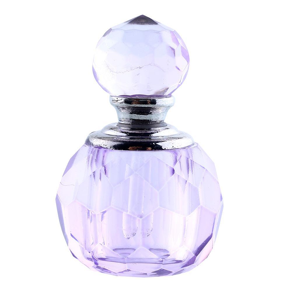 Purple Mini Refillable Bottles Empty Bottles Crystal