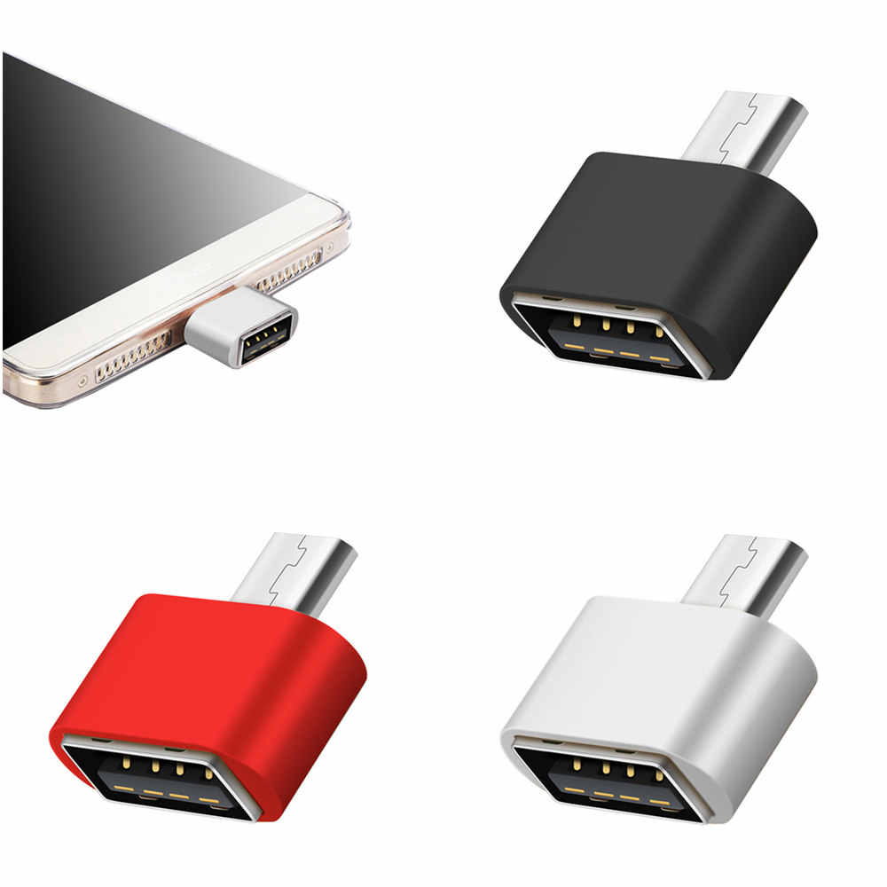 8 Chiếc Micro USB OTG Cho Máy Xiaomi Redmi Note 5 6 Samsung Galaxy S7 Edge S6 Micro Usb dành Cho Điện Thoại Android OTG Adaptador