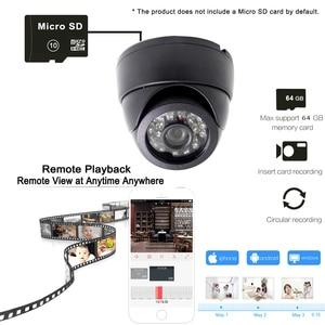 Image 5 - JIENUO cámara Ip Wifi 1080P 960P 720P HD Cctv, vídeo de vigilancia, seguridad, Audio inalámbrico, IPCam interior, cámara de domo infrarrojo para el hogar