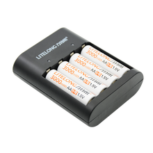 Продукт, 4 шт., 1,5 в, мwh, AA, литий-полимерный, литий-ионный, полимерный аккумулятор, зарядное устройство avec, комплект+ 1 USB зарядное устройство