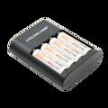 Набор зарядных устройств avec  литий-полимерный литий-ионный аккумулятор 1 5 В 3000mWh 4 шт. + зарядное устройство USB 1 шт.
