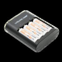 Новый продукт 4 шт. 1.5 В 3000mWh AA литий-полимерный литий-ионный Литий-полимерный аккумулятор avec комплект зарядного устройства + 1 USB Charger