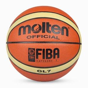 Image 3 - Atacado ou varejo nova marca barato gl7 bola de basquete plutônio materia oficial size7/5 basquete livre com saco líquido + agulha
