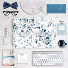 "Vinyl Decal Sticker Skin for Apple Macbook 11""12""13""15"" , Full Cover Skin Sticker ( Blue and White)(China)"