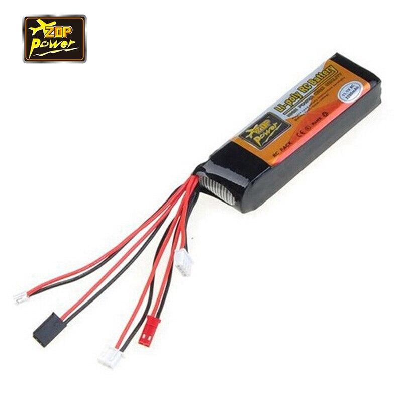 D'origine ZOP Puissance 3 S 11.1 V 2200 MAH 8C Lipo Batterie Pour Devo JR WFLY Émetteur À Distance Contrôleur Contrôle Pièces de rechange