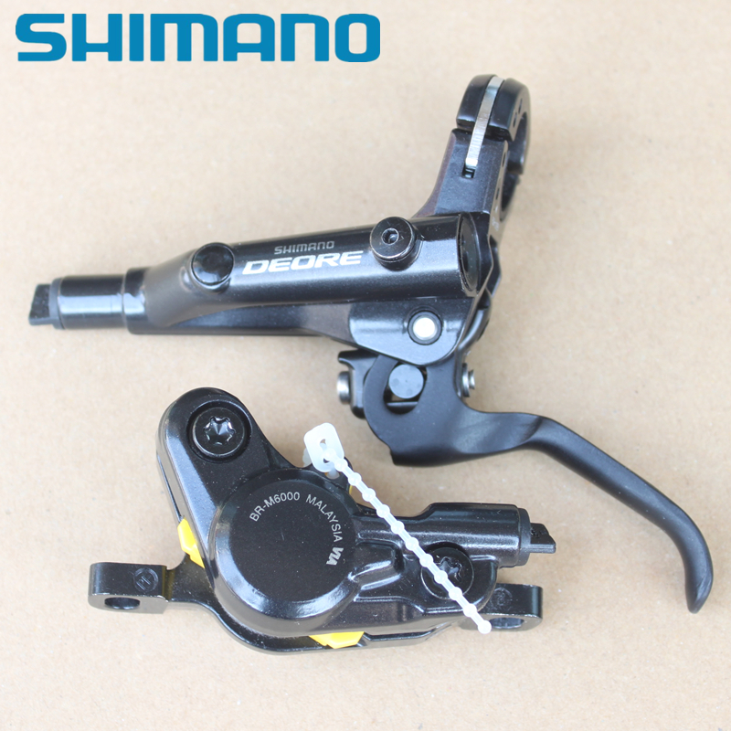 New Shimano Deore BR-M6000 Disc Brake Set  Front /& Rear MTB M615 upgrade