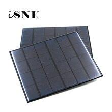 لوحة طاقة شمسية 6 فولت نظام شمسي صغير لتقوم بها بنفسك لشحن بطارية شحن الهاتف المحمولة 0.6 واط 1 واط 1.1 واط 2 واط 3 واط 3.5 واط 4.5 واط الخلايا الشمسية