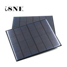 แผงเซลล์แสงอาทิตย์ 6V MINI SOLAR ระบบ DIY สำหรับแบตเตอรี่โทรศัพท์มือถือแบบพกพา 0.6W 1W 1.1W 2W 3W 3.5W 4.5W Solar CELL