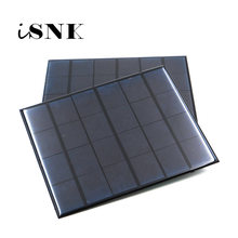Solar Panel 6V Mini Solar System DIY For Battery Cell Phone Chargers Portable 0.6W 1W 1.1W 2W 3W 3.5W 4.5W Solar Cell(China)
