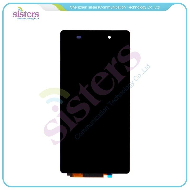 5 pièces en gros LCD affichage écran tactile numériseur assemblée complète pour Sony Xperia Z2 L50W D6502 D6503 D6543 Sirius livraison gratuite