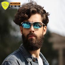 2017 hot selling New Brand fashion polarized sunglasses men Classic Retro Driving Sun Glasses UV400 Aluminium Magnesium Frame