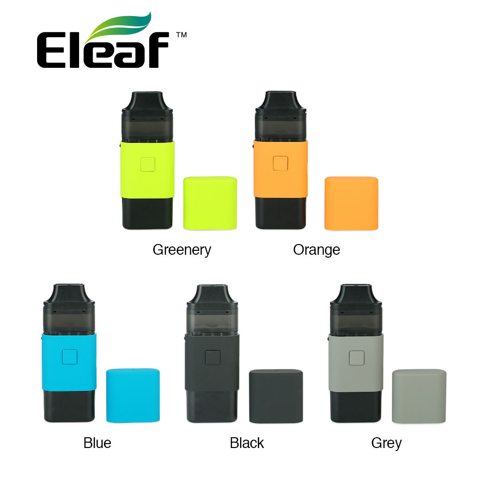 Original 650mAh Eleaf ICard Starter Kit Built-in 650mAh Battery W/ 2ml Cartridge & 1.2ohm <font><b>Coil</b></font> Head Max Output 15W Ecig Vape Kit image