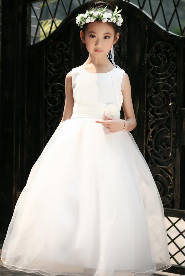̀ •́ Primera Comunión vestidos para Las Muchachas Adolescentes de la ...