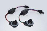 2pcs 3156 3157 T25 Canbus Error Free LED Decoder Resistors For Car LED Bulbs Warning Error