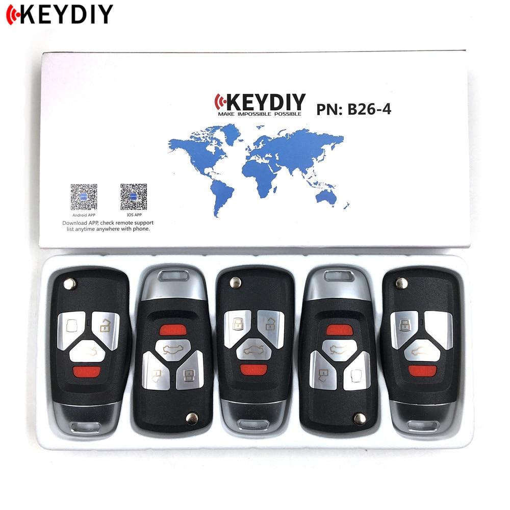 5pcs lot Newest Original KEYDIY KD B26 4 3 For KD900 KD X2 Key Programmer KD
